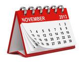 Fotografie stolní kalendář proti bílé