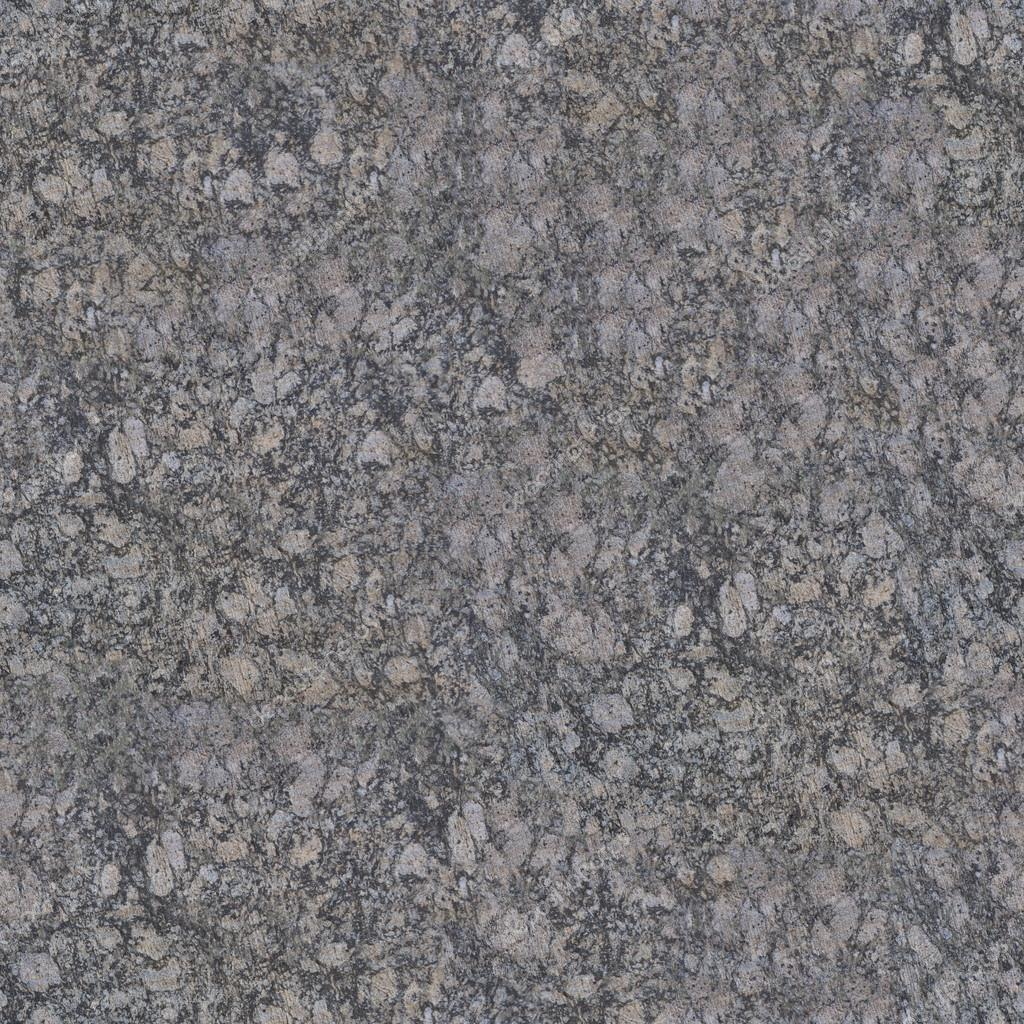 Seamless Dark Grey Granite Texture Stock Photo