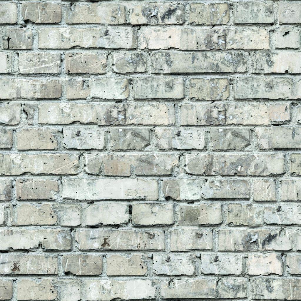 Grey Brick Wall Texture.