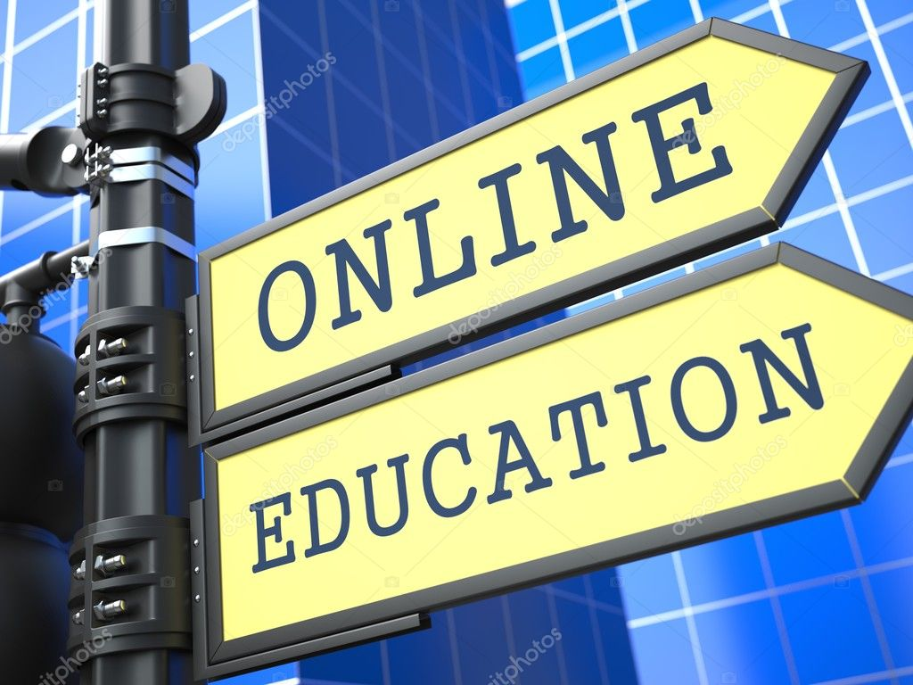 Business Concept. Online Education Sign.
