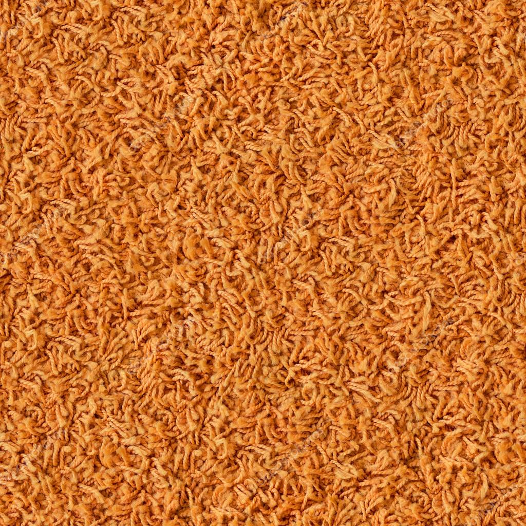 Orange Carpet Seamless Texture Stock Photo