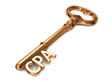 CPA - Golden Key.