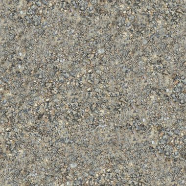 Seamless Texture of Wet Dirt Country Road.