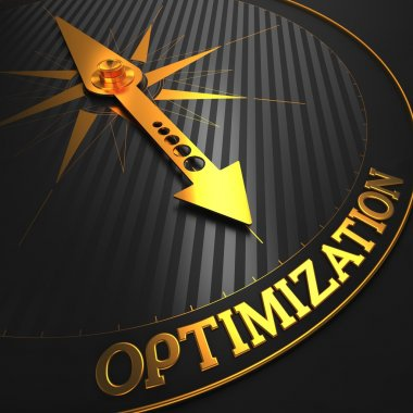 Optimization. Business Concept.