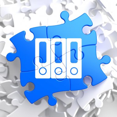Puzzle Pieces: Data Concept.