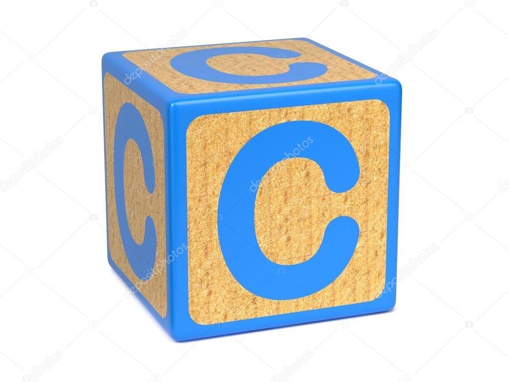 Images Block Letter C Letter C On Childrens Alphabet Block Stock Photo Tashatuvango 35513965