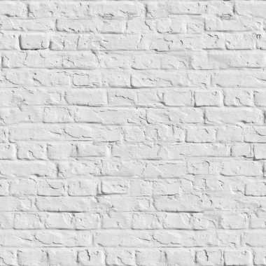 White Brick Wall - Seamless Texture.