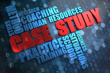 Case Study. Wordcloud Concept.