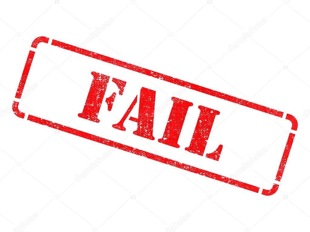 fail inscription on red rubber stamp stock photo tashatuvango