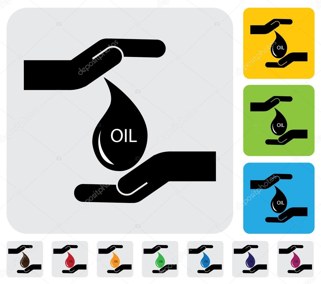 Human hands conserving crude oil concept simple vector graphic human hands conserving crude oil concept simple vector graphic stock vector biocorpaavc Gallery