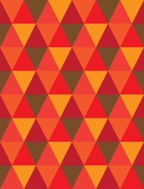 seamless background of triangle & diamond geometric shapes- vect