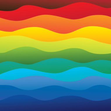 abstract colorful & vibrant water waves of ocean background (bac