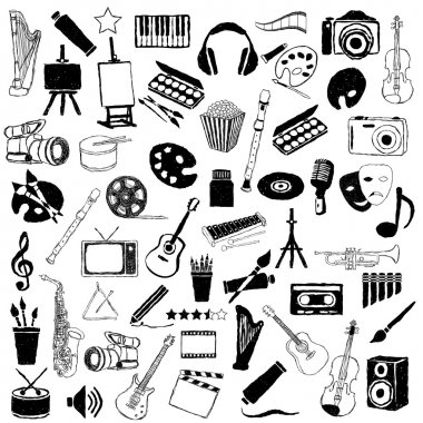 Big doodle art pictures collection