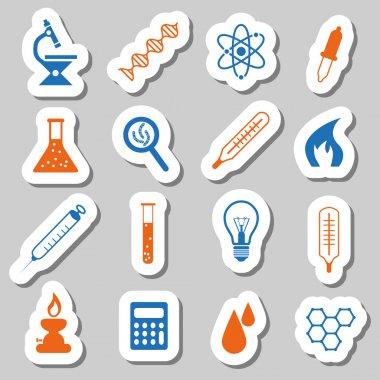 laboratory stickers