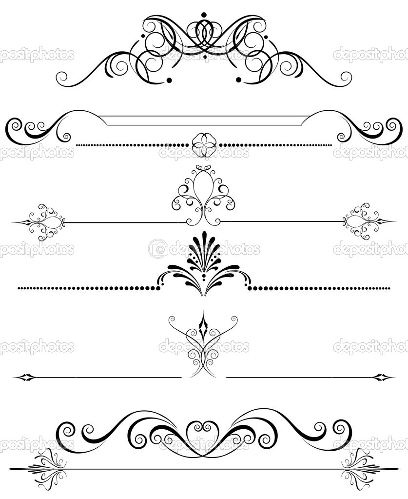 Decoraci n de la p gina vector de stock blackmoon979 for Decoracion pagina