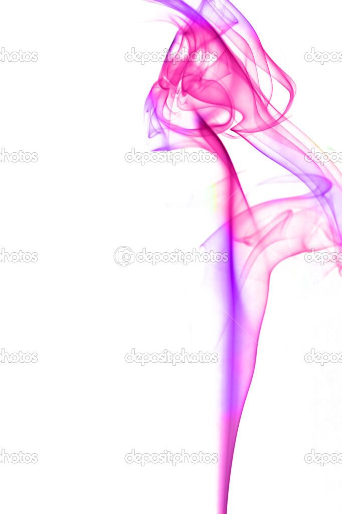 etwas Rauch in verschiedenen Farben — Stockfoto © erllre #23608539