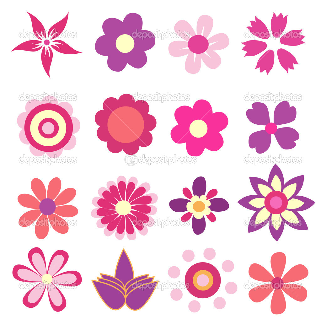 Colorful Spring Flowers Illustration Stock Photo C Nezezon 45411239