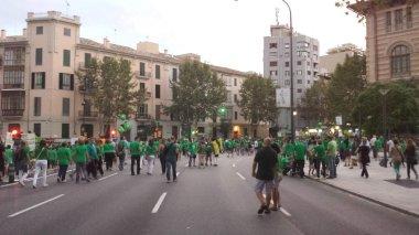 Spain education manifestation