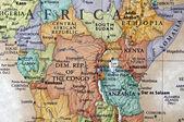 Fotografie Map of Kenya
