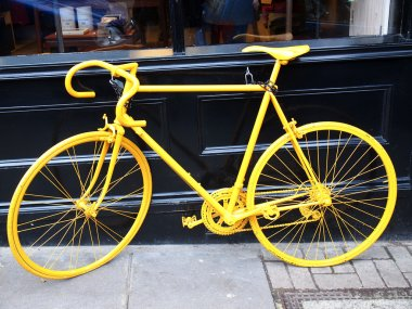 yellow bike