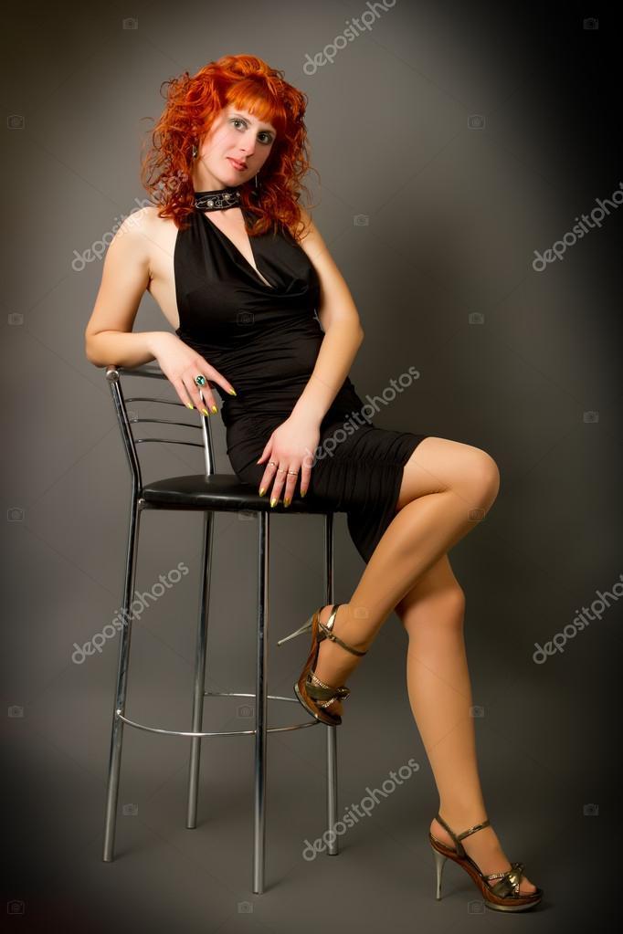 которые остановились фото рыжей девушки в кресле после этого меня