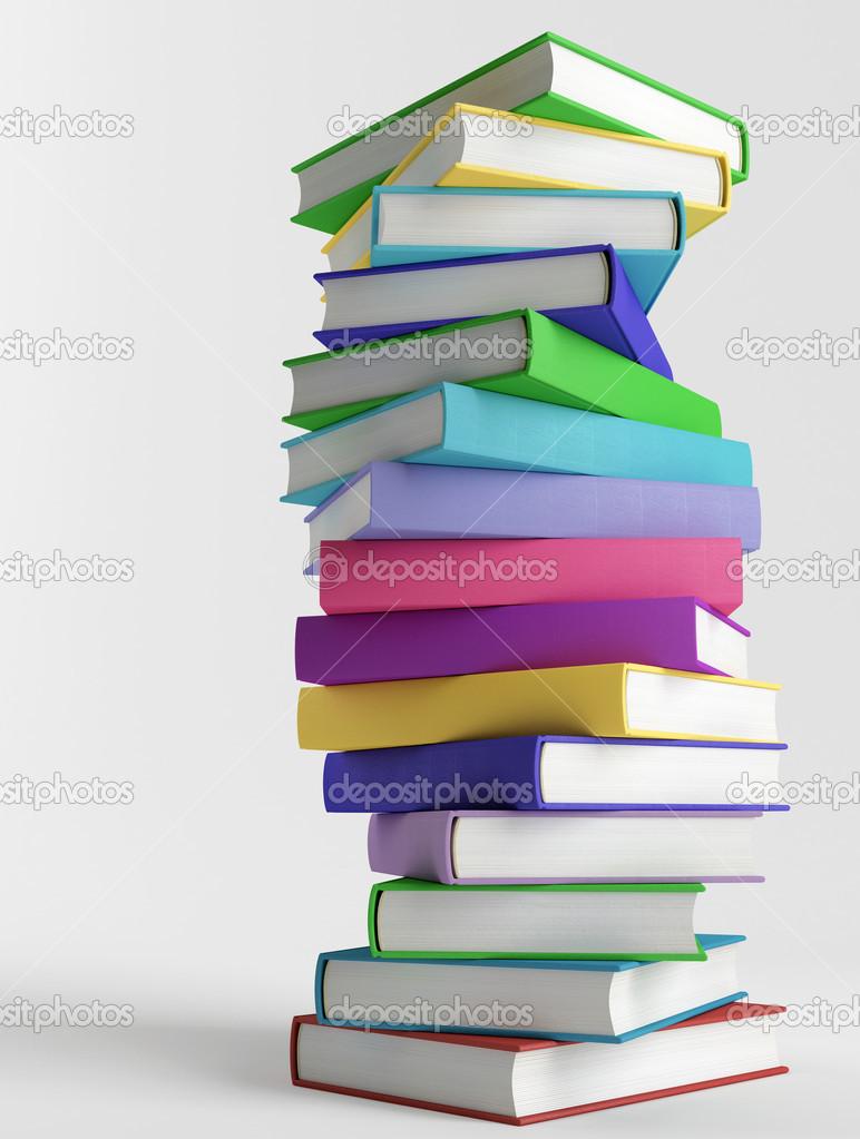 Stapel kleurrijke boeken stockfoto saracin 12372377 for Libri usati scolastici