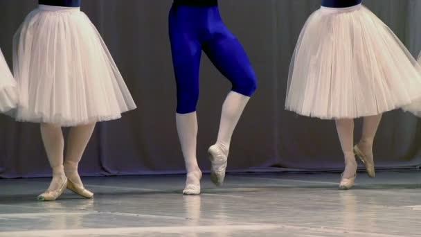 čtyři baleríny a baletka