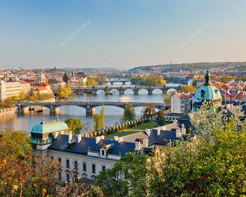 Обои чехия, praga, czech republic, панораманый, красивый. Города foto 15