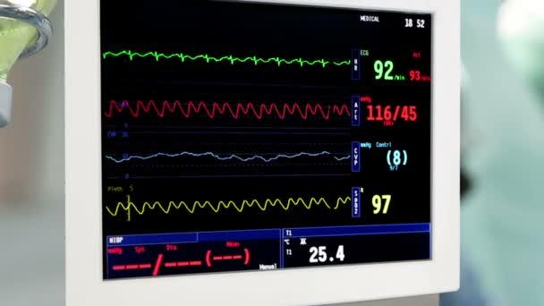 intravenózní infuzi s monitorem v provozu místnosti