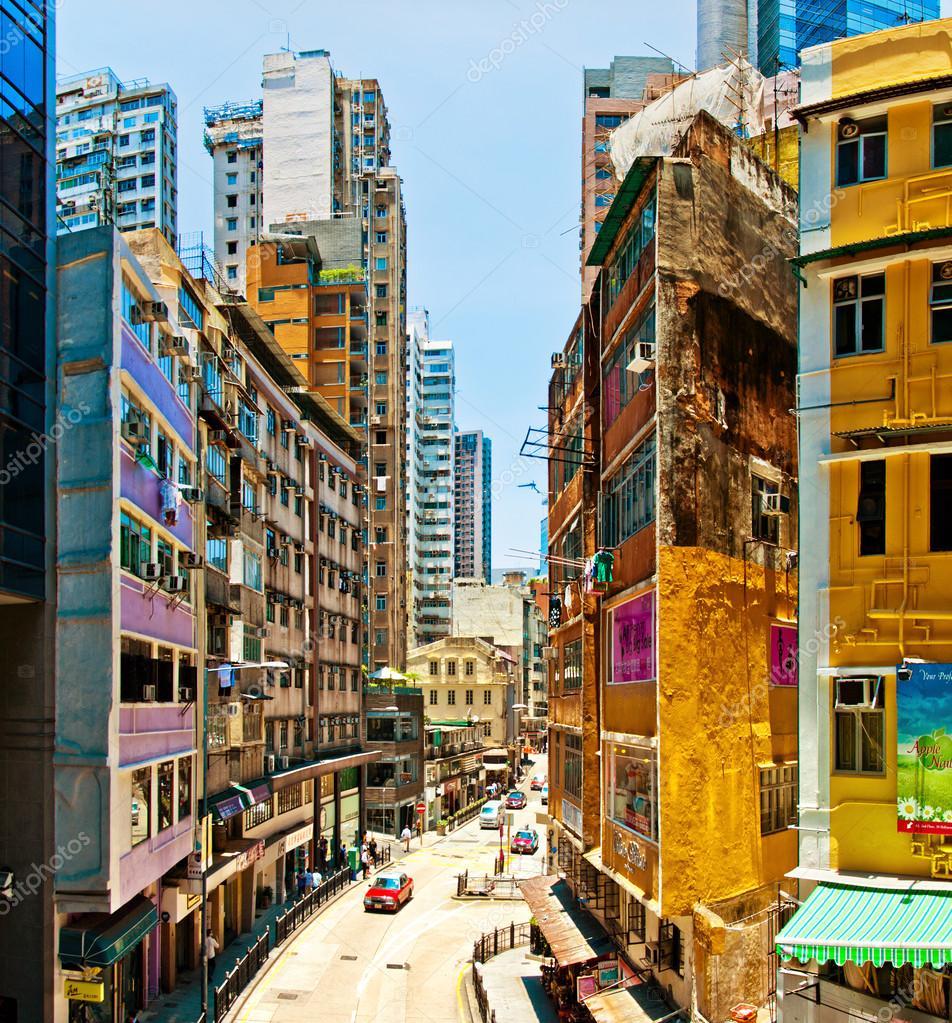 Downtown Apartments On De La Montagne Montreal: Hong Kong Downtown Street View
