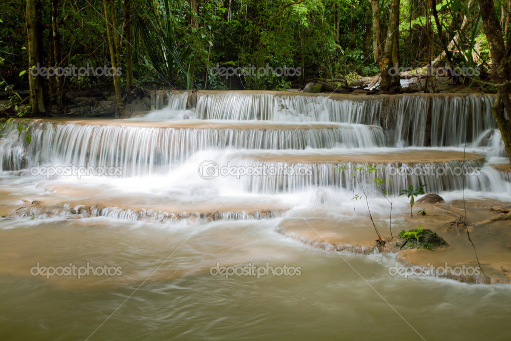 Beautiful Tropical Watefall