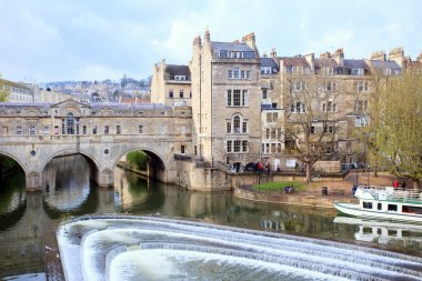 Bath Cityscape England UK