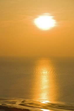 Sunrise From Mountian view point of Huahin Beach