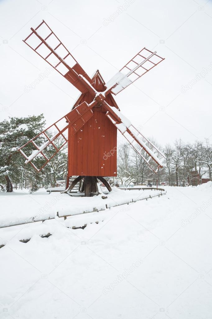 Windmill Winter