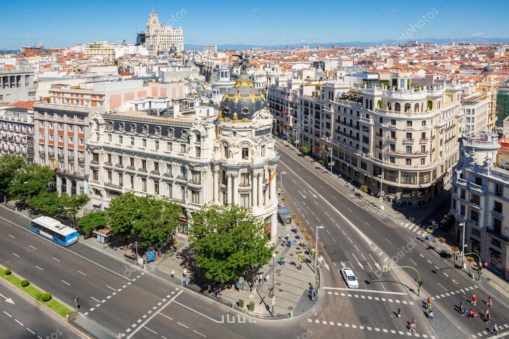 Gran Via shopping street