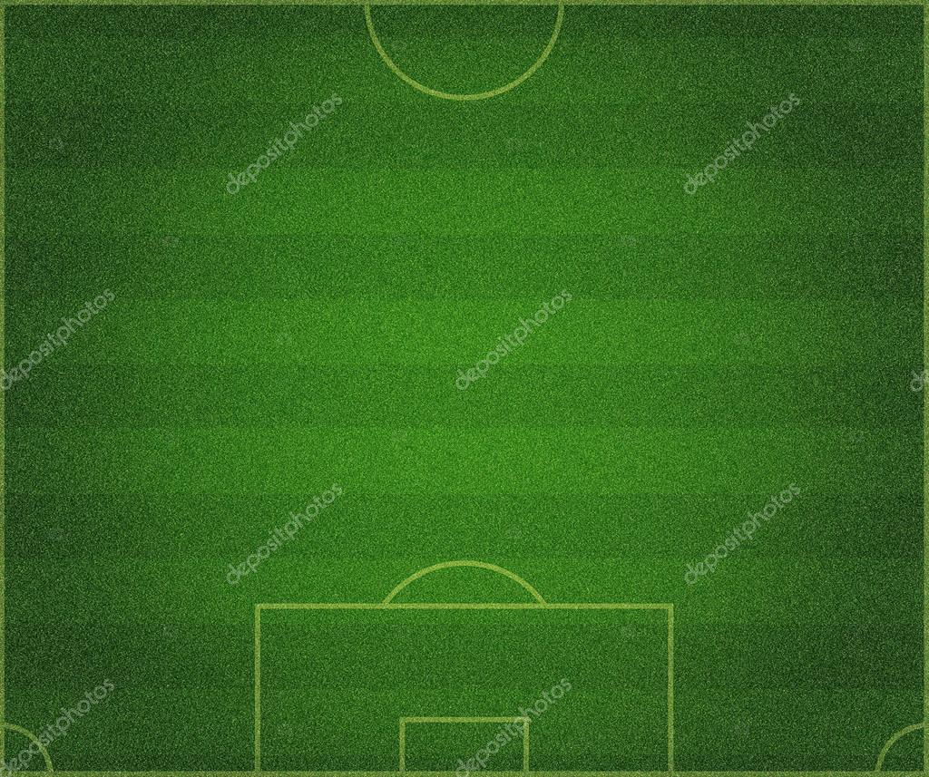 green grass soccer field. Green Grass Soccer Field Background \u2014 Stock Photo N