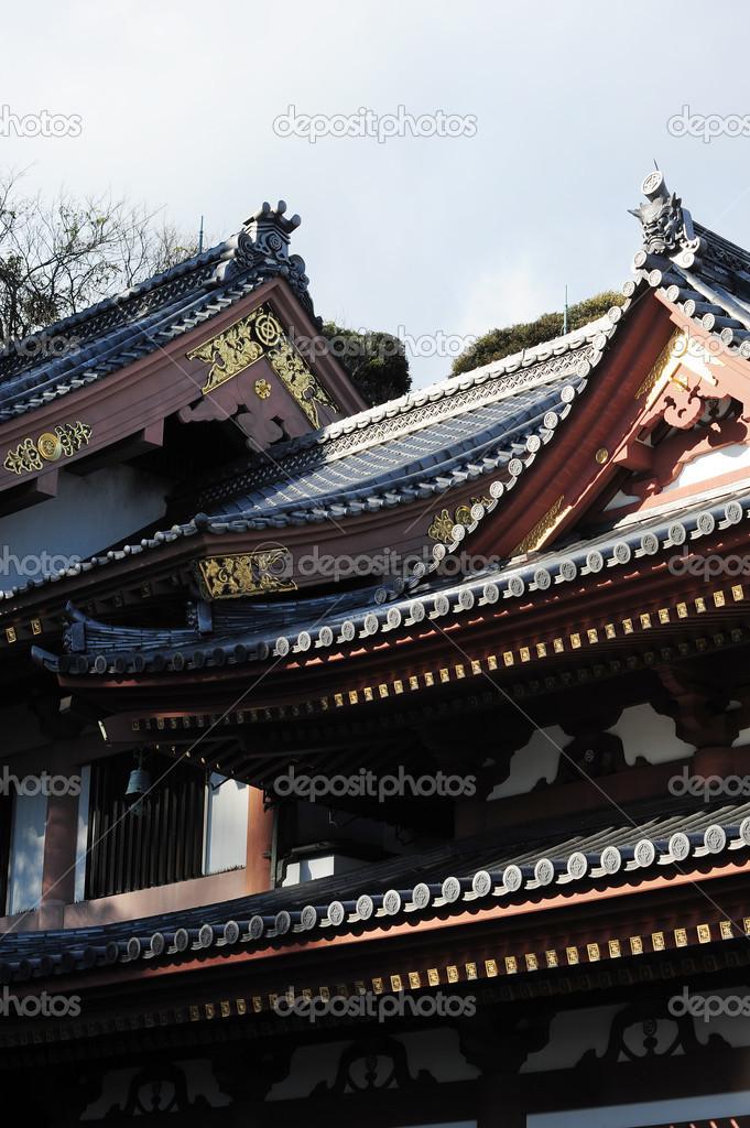 Japanisches Dach japanische dach stockfoto porbital 33661051