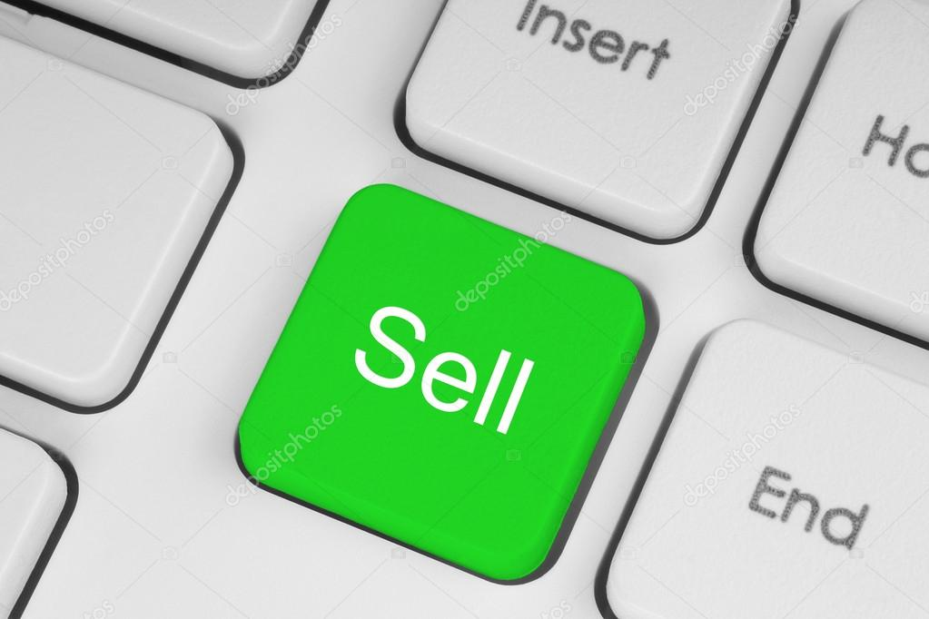 Sell green button