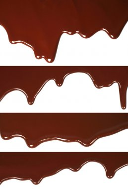 Melted chocolate dripping set