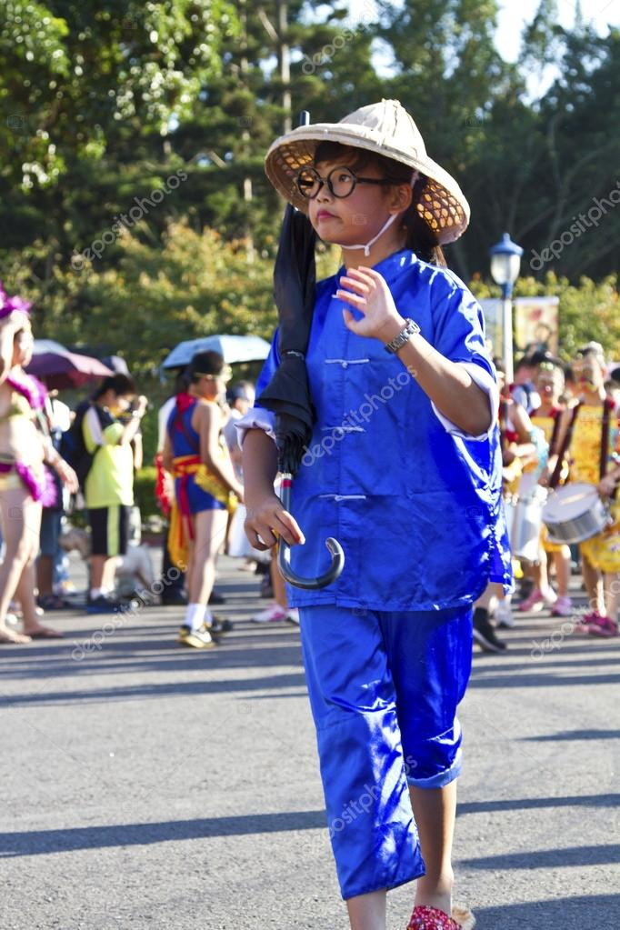 Farmer carnival dancer
