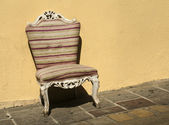 Fotografie Old chair in baroque style