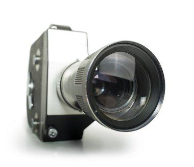Old vintage cine-camera