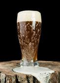 Photo Beer mug on stump