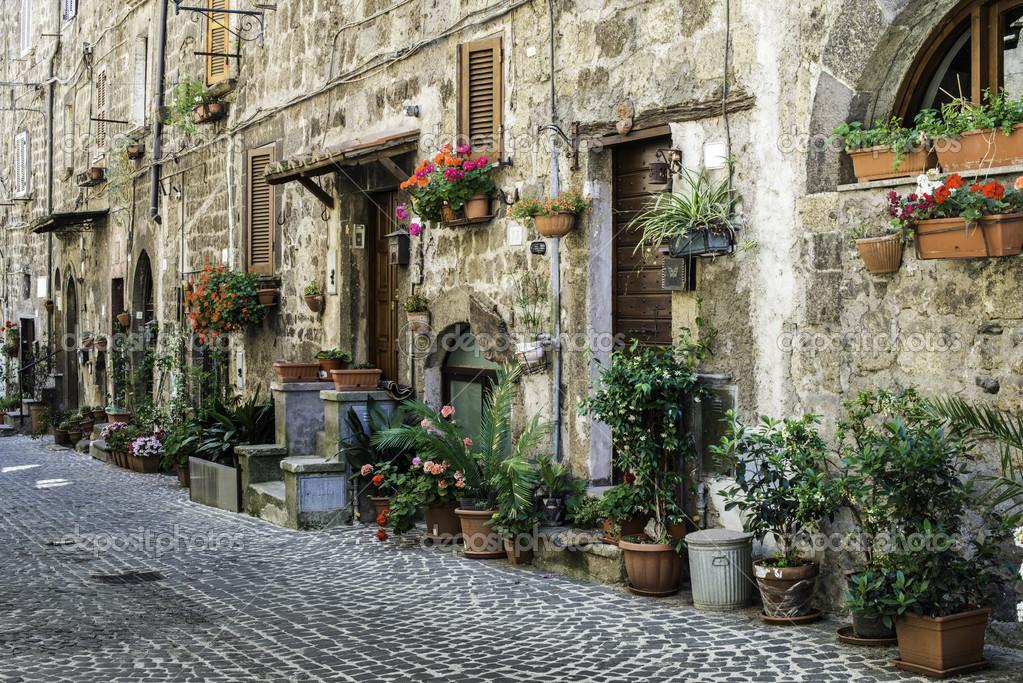 case tradizionali italiane foto stock deyangeorgiev2