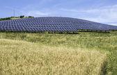 solární panely ve venkovských