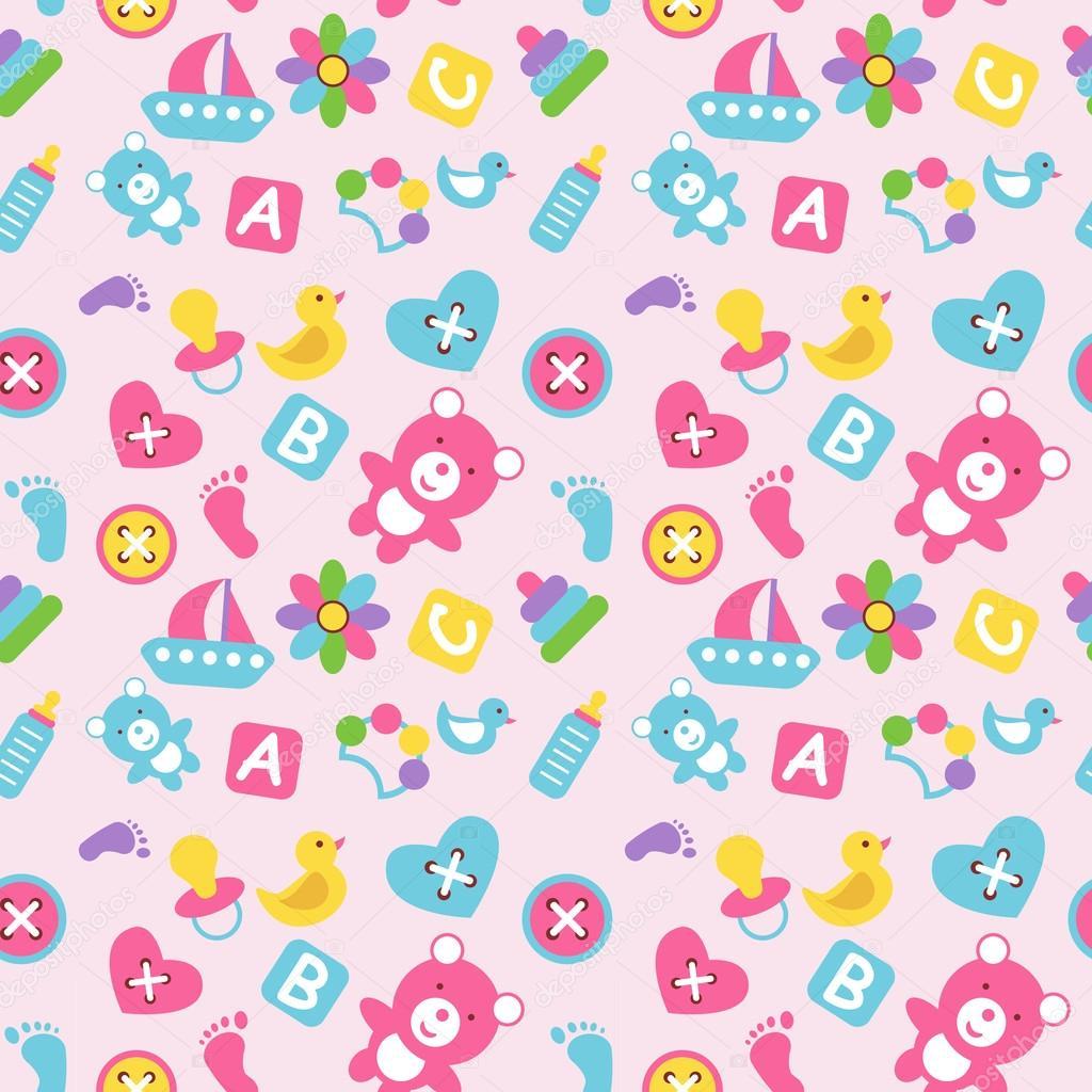 Toys Seamless Wallpaper