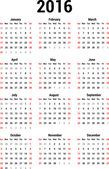 Kalendář 2016
