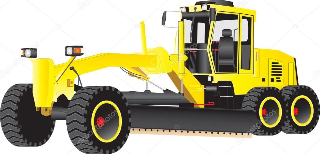 Yellow Grader