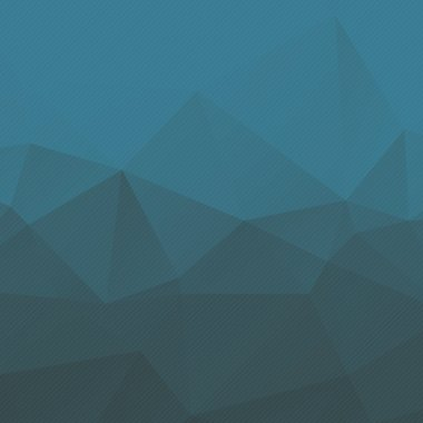 abstract blue triangle background with stripes