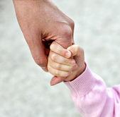 Fényképek Gyermek gazdaság anya kezét